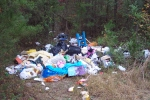 Example of illegal dumping